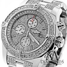 Breitling Super Avenger Diamond Dial Bezel and Bracelet A13370 Authentic Watch