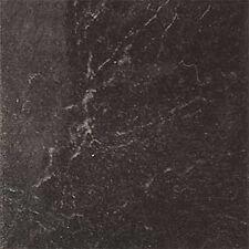 Black Marble Vinyl Floor Tiles 40 Pcs Adhesive Flooring - Actual 12'' x 12''