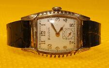 Men's 40's BULOVA Mechanical Hand-Wind Watch MADE IN USA <VGU>
