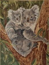 Koala and Baby - Trammed Tapestry