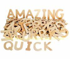 120 in Legno Lettere alfabeto capitale dell' istruzione e artigianato