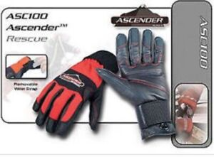 HATCH TACTICAL ROPE RESCUE GLOVES ASC100 Red/black XL