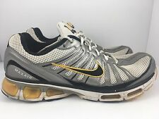NIKE Air Max Tailwind 2009 Men US 11 White Silver Yellow Shoes 344758-101
