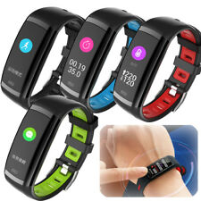 Waterproof Bluetooth Wireless Heart Rate Fitness Activity Tracker Smart Watch
