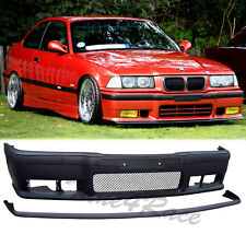92-98 BMW E36 3-Series M3 Style front bumper body kit lip 2/4 Drs NEW