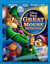 Disney's Twist on Sherlock Holmes THE GREAT MOUSE DETECTIVE on Blu-ray and DVD