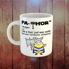 Fa-Thor Like A Dad Just Way Cooler Coffee Mug Best Gift For Father, Grandfather