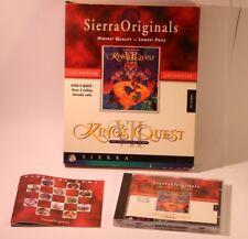 KINGS QUEST VII The princeless Sposa PC CD-ROM Gioco da SIERRA 1994 Big Box