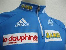 Ancien MAILLOT BLEU ADIDAS CRITERIUM DU DAUPHINÉ LIBÉRÉ ? 2005 Cycling Team T2XL