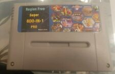 Super Nintendo Everdrive + Carte SD 8go - SNES -Sd Card- Flash Card 900 jeux