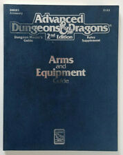 Advanced Dungeons & Dragons 2 2e 2nd - Arms and Equipment Guide (1991) (Ex)