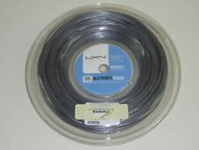 *NEU*Luxilon Alu Power ROUGH 1.25mm Tennis Saitenset 12m string big silver new