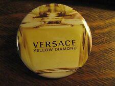 Versace Mirror - Yellow Diamond RePurposed Advertisement Pocket Lipstick Mirror