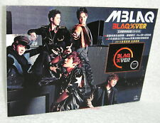 MBLAQ BLAQ% VER ASIA EDITION 2012 Taiwan Promo Display
