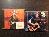 Bryan Adams - 2 Album Joblot - Unplugged (1997) & 18 Til I Die (1996)