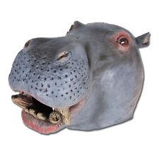 Hommes Adultes Masque Hippopotame Tête Jungle Animal Bête Afrique Inde Reve Robe