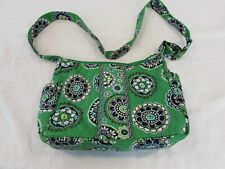 Vera Bradley Authentic Green Cupcake Hobo Bag Discontinued Kelly Green Hipster