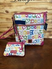 Dooney & Bourke DOODLE Crossbody With Wristlet Mddlc3264 With Tag