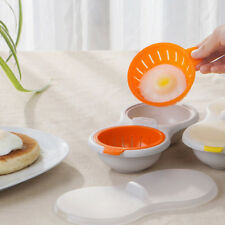 Steamed Egg Bowl Egg Poacher Cook Poach Pods Tools Microwave Oven Baking Cup GT