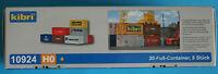 Container 20-Fuß- 8 Rue Kibri Kit de montage échelle H0