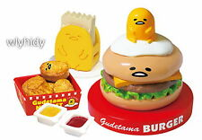 Miniatures Sanrio Gudetama Burger Shop set  #4 , 1 pc only  - Re-ment  , h#2ok