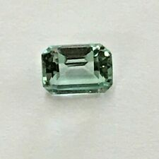 Vintage Octagon Faceted Green Spinel Gemstone, New Old Stock of Fine Store, 2 CT