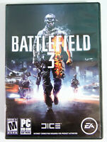 Battlefield 3 2-Disc PC DVD-ROM Complet EA First-Person Shooter Video Game 2011