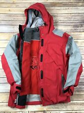 Alpine Design Red Gore Tex Waterproof Rain Jacket Mens Medium 3 In 1 Lined