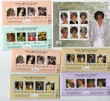 British Colonies Stamps Souvenir Sheet Lot