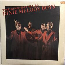 The Sing-Sational DIXIE MELODY BOYS Private Press Gospel QCA VG+ LP In Shrink