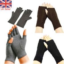 Winter Fingerless Arm Warmer Gloves Hand Soft Mittens Protected Knitted Gloves