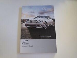 2010 Mercedes Benz C-Class Usado Fábrica Originales Owners Manual