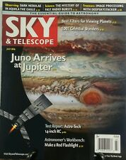 Sky & Telescope July 2016 Juno Arrives at Jupiter Planets FREE SHIPPING sb
