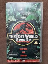The Lost World Jurassic Park CIC VHS