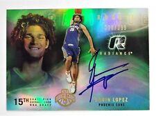 Robin Lopez Phoenix Suns 2008-09 UD NBA Radiance Auto Rookie 228/299