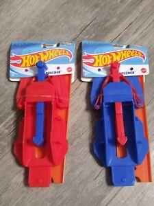 Hot Wheels Hot Wheel Car Truck Track Attachment Launcher Lot (2) Mattel New 🔥