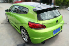 Pop Rear Roof Spoiler Wing For Volkswagen VW Scirocco VortexStyle Carbon Fiber