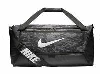 Nike Sporttasche Fitnesstasche Freizeittasche BRASILIA MEDIUM DUFFEL schwarz