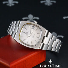 Matte OMEGA Wristwatches with Date Indicator