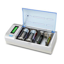 4slots Universal Battery Charger For 9V AA AAA C D Ni-MH/Cd Rechargeable Battery