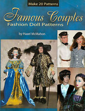 Famous Couples Fashion Doll Patterns by Hazel McMahon (2003, Paperback)
