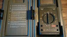 Fluke 25 Multimeter + Probe Leads + Fluke 25 27 ABS Hard Case - C20
