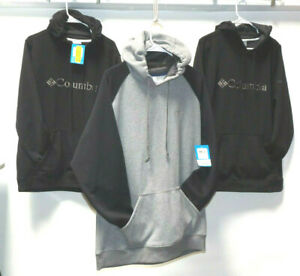 Columbia Sportswear Men's Size Large HOODIES WITH FRONT POCKET BLACK OR GRAY