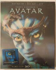 Avatar Ironpack (like Steelbook) Blu-Ray (Taiwan edition) NEW&SEALED!!