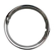(SINGLE) VW Beetle Splitscreen Stainless Steel Beauty Wheel Trim Ring 15 Inch x1