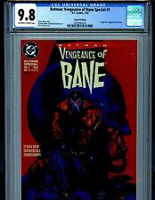 Batman Vengeance of Bane #1 CGC 9.8 NM/MT  2nd Print 1993 1st Bane DC Comics K15