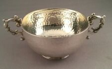 Antique Arts & Crafts Period Solid Silver Bowl, Chester C1905