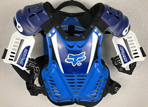 FOX Racing Roost 2 Vintage Chest Protector Motocross Dirt Bike RARE MADE ITALY