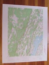 Cementon New York 1965 Original Vintage USGS Topo Map