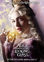 ALICE THROUGH THE LOOKING GLASS Movie PHOTO Print POSTER Film Anne Hathaway 005
